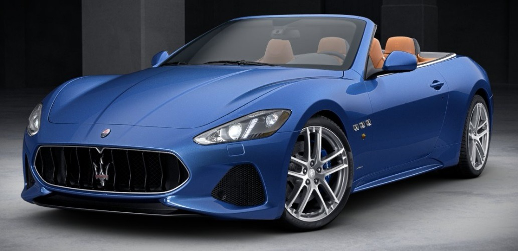 matte finish blue sports car