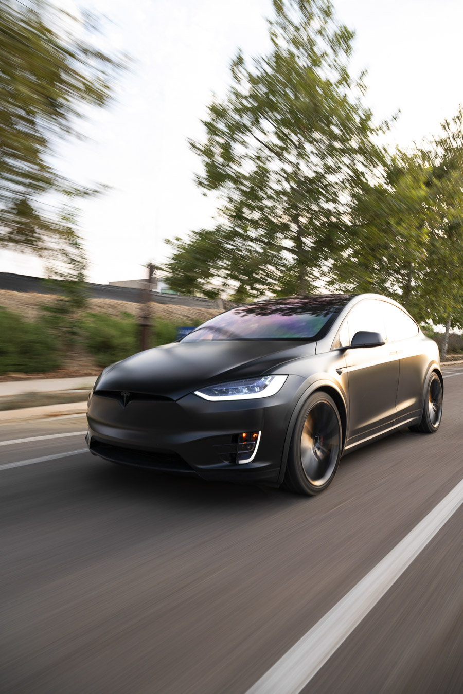 Kavaca Matte Finish PPF Tesla Model X
